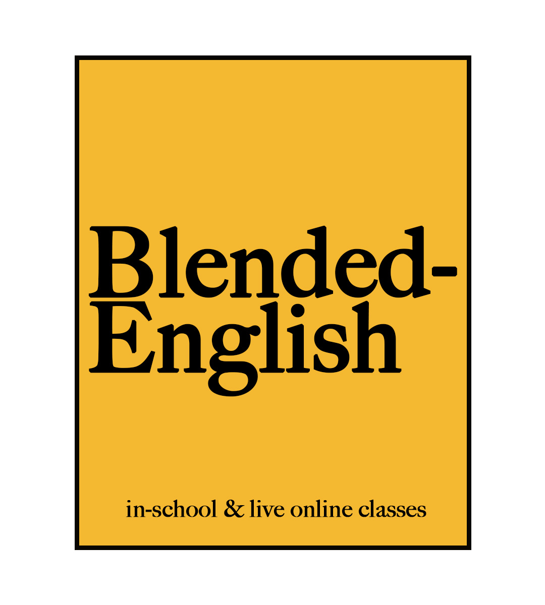 blended english yellow